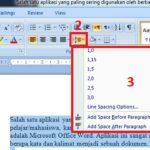 Cara Mengatur Spasi Di Microsoft Word Terbaru